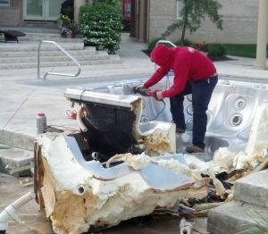 Hot Tub Removal Chandler AZ